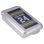 Team Jersey with Custom Name and Number Cake Pan
