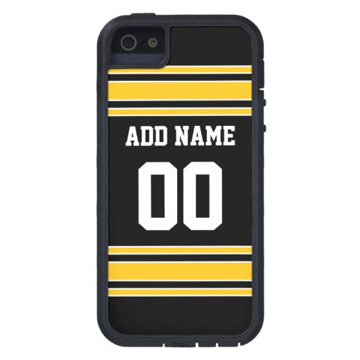 Team Jersey with Custom Name and Number Case For iPhone 5