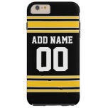 Team Jersey with Custom Name and Number Tough iPhone 6 Plus Case