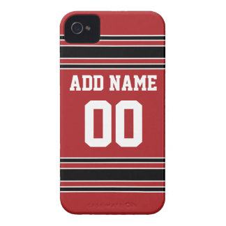 Team Jersey with Custom Name and Number iPhone 4 Cover