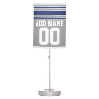 Team Jersey with Custom Name and Number Desk Lamp