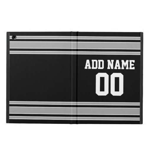Team Jersey with Custom Name and Number iPad Air Covers