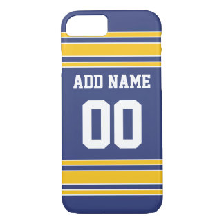 Team Jersey with Custom Name and Number iPhone 7 Case