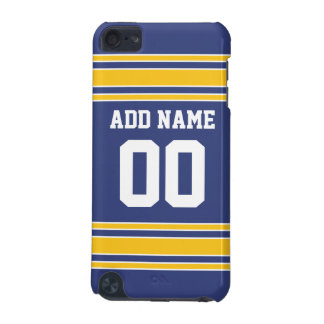 Team Jersey with Custom Name and Number iPod Touch (5th Generation) Cover