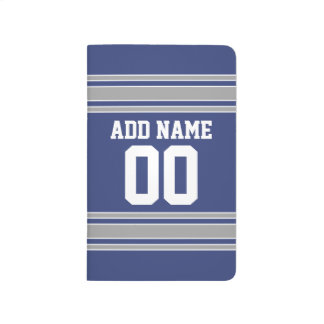Team Jersey with Custom Name and Number Journal