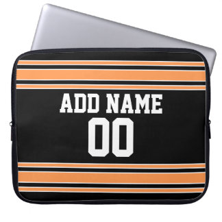 Team Jersey with Custom Name and Number Computer Sleeve