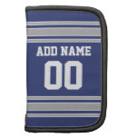 Team Jersey with Custom Name and Number Organizers