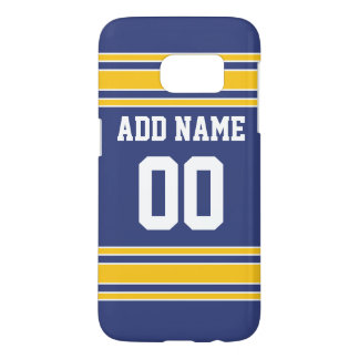 Team Jersey with Custom Name and Number Samsung Galaxy S7 Case