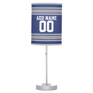 Team Jersey with Custom Name and Number Table Lamp