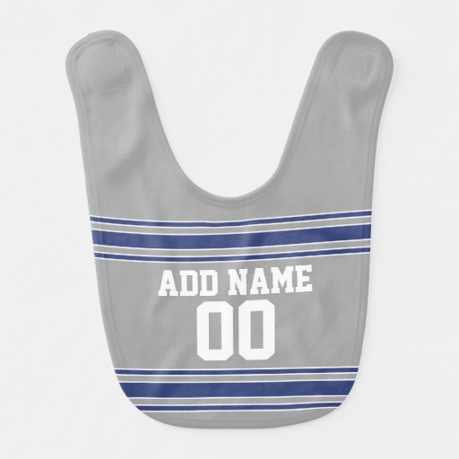 Team Jersey with Custom Name and Number Bib