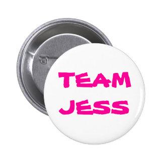 Team Jess Pinback Button