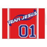Team Jesus Card