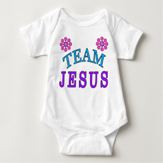 Team Jesus Christian Baby Clothes Online Baby Bodysuit