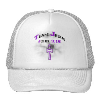 Team Jesus Christian John 316 Trucker Hat
