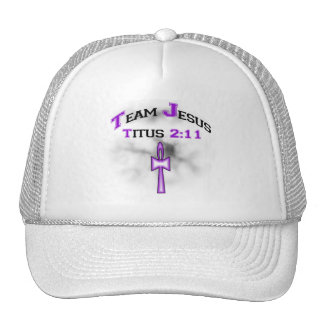 Team Jesus Christian Titus 211 Trucker Hat