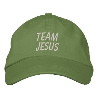 Team Jesus Hat Embroidered Hats