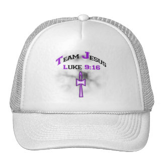 Team Jesus Luke 916 Trucker Hat