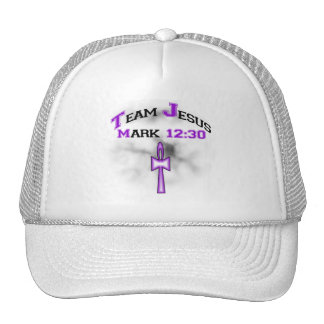 Team Jesus Mark 12:30 Trucker Hat