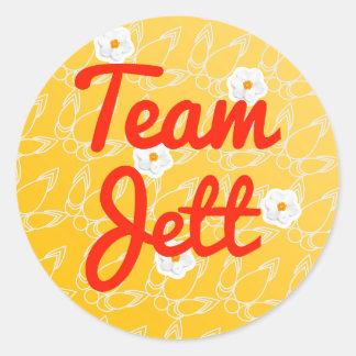 Team Jett Classic Round Sticker