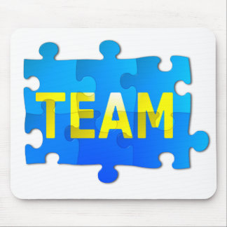 Team Jigsaw Puzzle Mouse Pad
