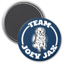 TEAM JOEY JAX BUTTON 2 MAGNET