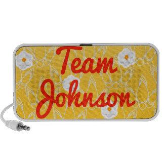 Team Johnson Travel Speakers
