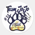Team JoJo Sticker Northshore Lady Panthers BBall