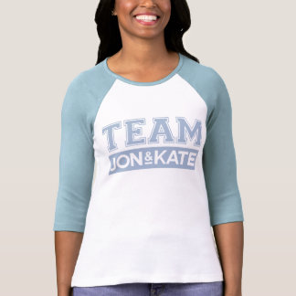 Team Jon & Kate Blue Tshirt