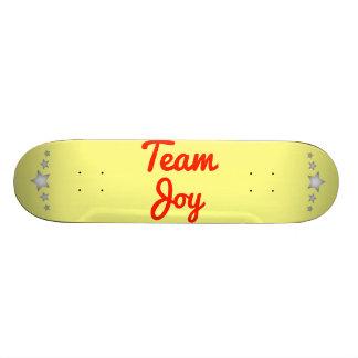Team Joy Skateboard Deck