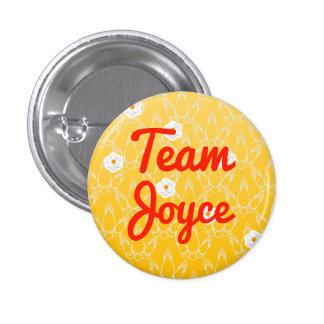 Team Joyce Pinback Button