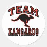 Team Kangaroo Sticker