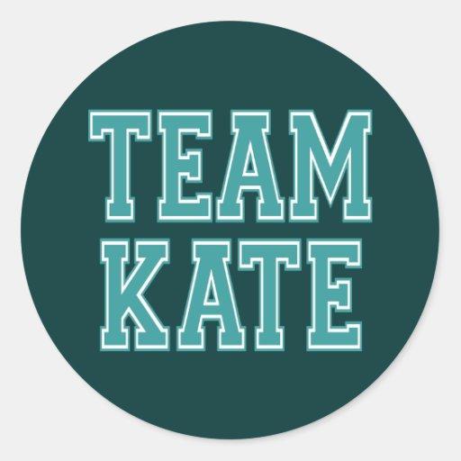 Team Kate Classic Round Sticker