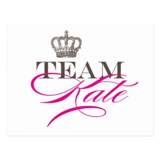 Team Kate | The Royal Wedding Postcard