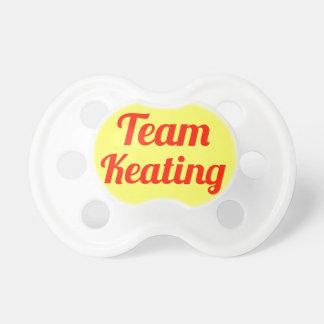 Team Keating Baby Pacifier