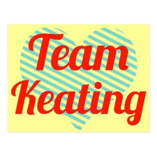 Team Keating Postcard