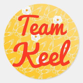 Team Keel Classic Round Sticker