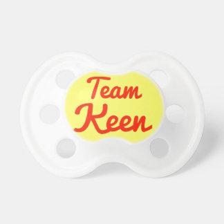 Team Keen Pacifiers