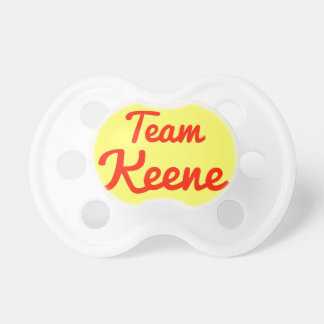 Team Keene Pacifiers
