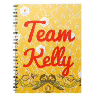 Team Kelly Spiral Notebook