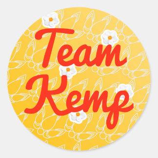 Team Kemp Classic Round Sticker