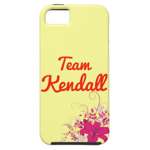 Team Kendall iPhone 5 Cases