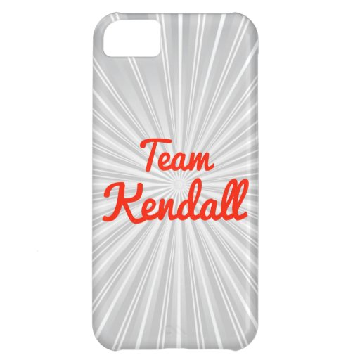 Team Kendall Cover For iPhone 5C