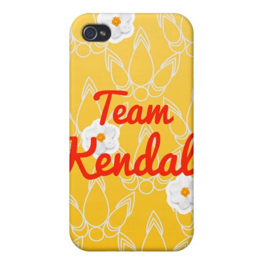 Team Kendall iPhone 4/4S Cover