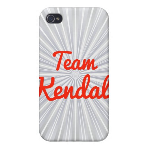 Team Kendall iPhone 4/4S Cases