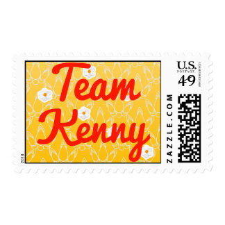Team Kenny Postage Stamps