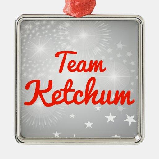 Team Ketchum Ornaments
