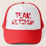 """Team Ketchup Trucker Hat<br><div class=""""desc"""">team ketchup trucker hat for ketchup fans</div>"""
