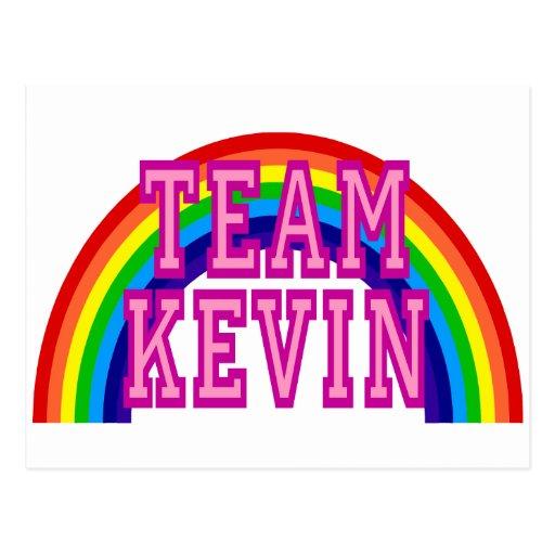 Team Kevin Postcard