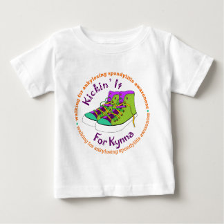 Team Kickin' It For Kynna Baby T-Shirt