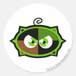 Team Kiko Lake Logo Classic Round Sticker